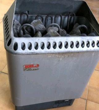 Estufa calentador sauna helo