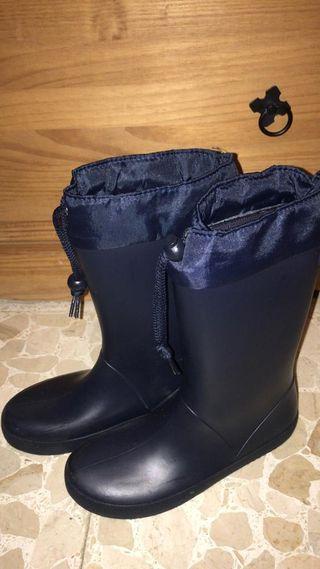 Botas de agua unisex talla 35
