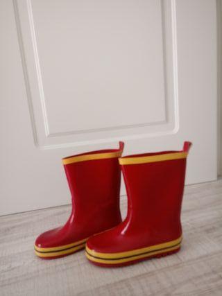 botas de agua niña