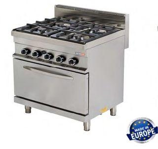cocinas a gas con horno diferentes tamaños