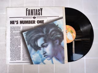 Vinilo MAXI FANTASY HE'S NUMBER ONE