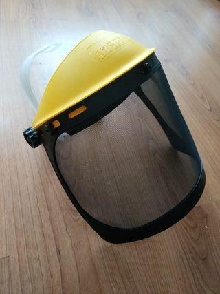 Máscara de seguridad.