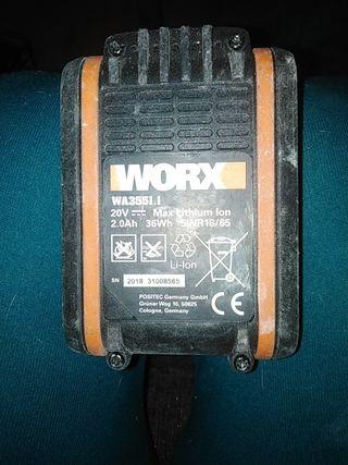 recambio de bateria (worx WA3551. 1)