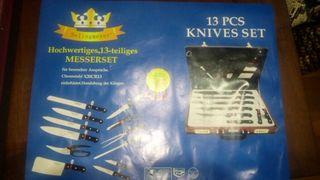 Estuche cuchillos