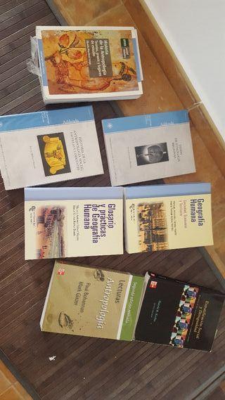 libros antropología uned