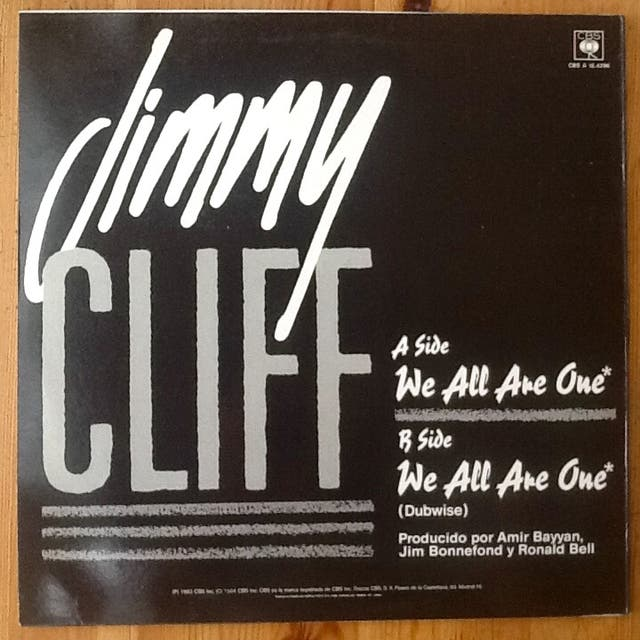 """JIMMY CLIFF """"WE ALL ARE ONE"""" maxi-12"""""""
