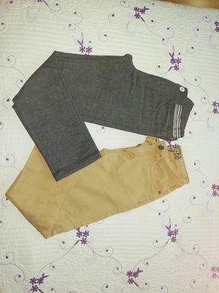 Pantalones niño talla 6-7