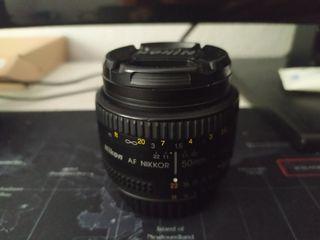 objetivo Nikon Nikkor 50mm