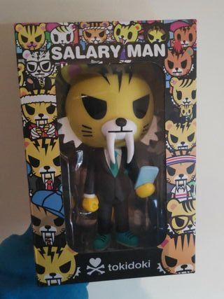 tokidoki salary man Tiger figure