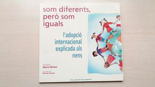 Libro Som diferents però som iguals. Maria Mateo.
