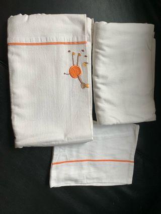 Conjunto de ropa de cuna 120x60