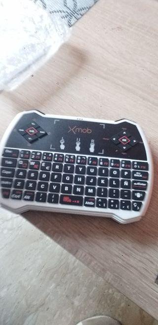 teclado para móvil, tablet,tele, y para mucho mas