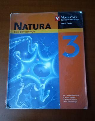 Libro biología y geología 3 eso Vicens Vives