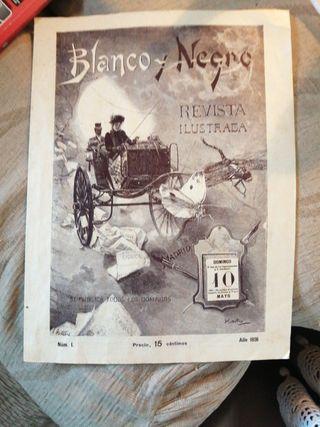 monedas, revista 1891, abanico
