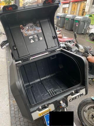 Top Case KTM y soporte Rack