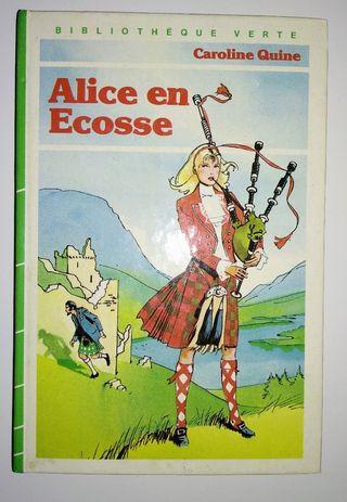 ALICE EN ECOSSE NOVELA LIBRO FRANCES