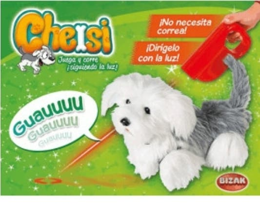 Perro láser Cheisi