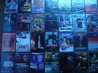 Lote de peliculas precintadas en dvd