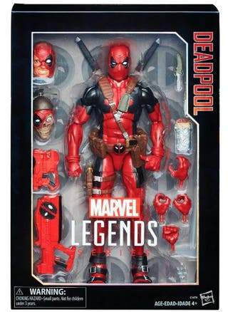 Figura Deadpool Marvel Legends 30 Cm