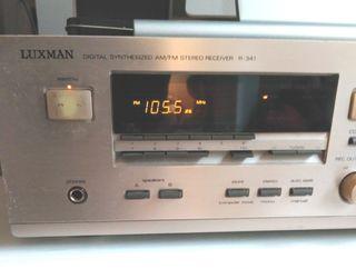 Amplificador receptor Luxman R-341