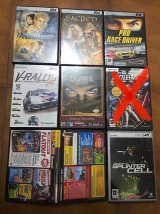 Juegos pc cd rom y dvd rom