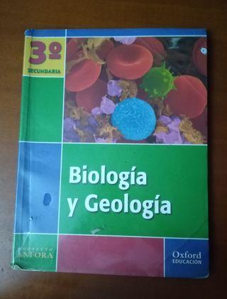 Libro Biología y Geología 3 eso Oxford