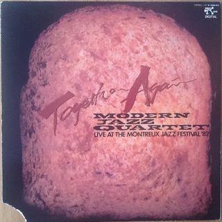 "MODERN JAZZ QUARTET ""TOGETHER AGAIN"" LP"