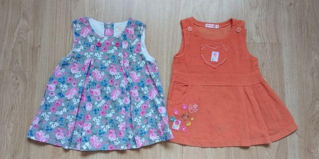 Lote dos vestidos 1 año