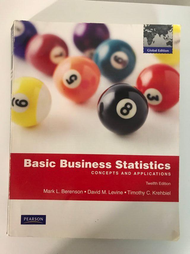 Libro - Basic Business Statistics