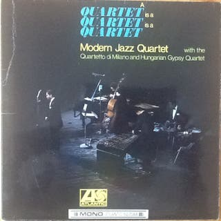 """MODERN JAZZ QUARTET """"A QUARTET IS A QUARTET..."""" LP"""