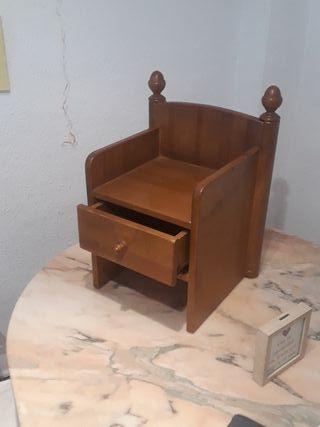 silla cajonera artesana palacio del bebe
