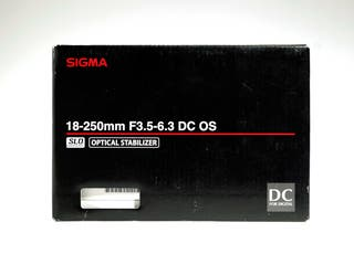 Sigma 18-250mm F3.5-6.3 DC OS HSM montura Canon