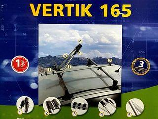 Portabicicletas de techo NORAUTO Vertik 165