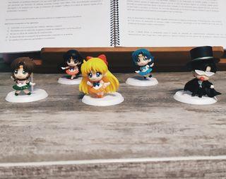 Pack 5 figuras de Sailor Moon
