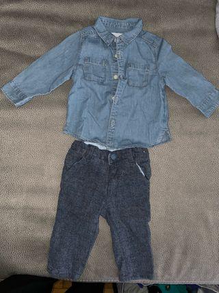 Camisa y pantalón