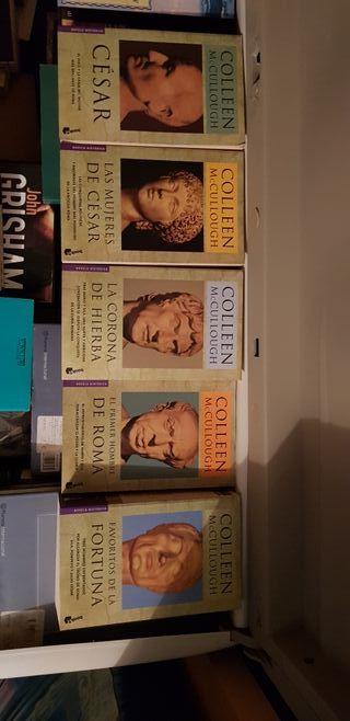 Saga Roma de Colleen McCullough - Novela histórica