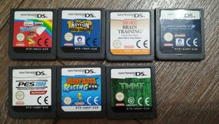 7 videojuego Nintendo DS