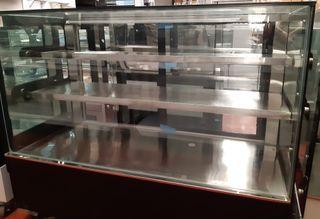 vitrina rectangular pastelería/showcase pastor