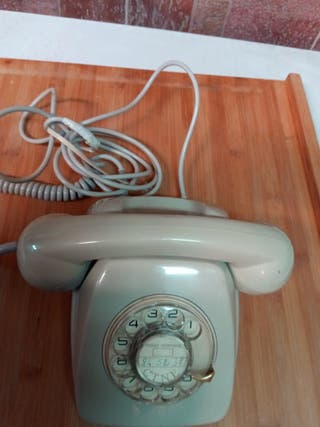 Original antiguo teléfono HERALDO CTNE