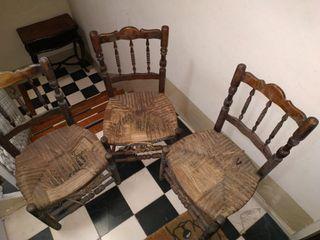 Sillas antiguas madera buena para restaurar