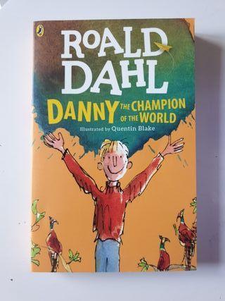 Libro en ingles de Roald Dahl Danny the Champion