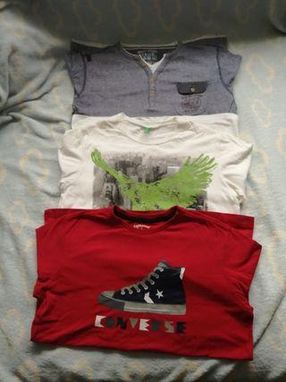 Camisetas manga larga niño 12.