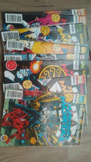 Comics Juego Mortal