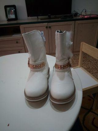 botas nuevas niña