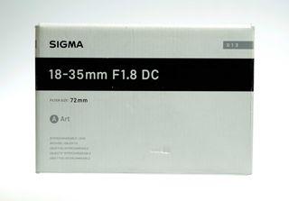 SIGMA 18-35mm F1,8 DC HSM ART montura Canon