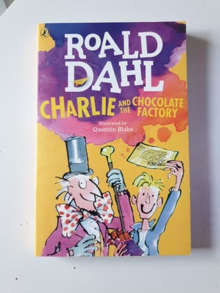 Libro en ingles Roald Dahl Charlie and the Choco