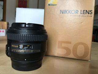 Nikon AF-S 50mm 1.4G ED