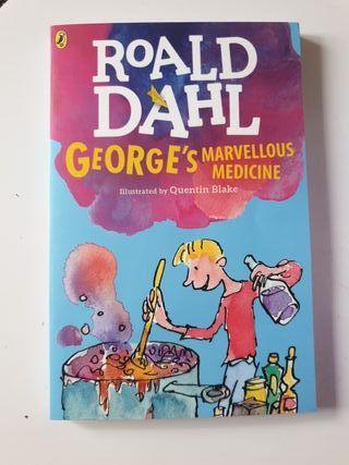 Libro en ingles Roald Dahl George's marvellous