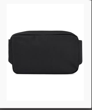Lyle & Scott Cross Body Waist Bag Black