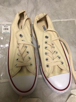 Zapatillas converse beige
